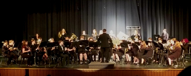 Central High School Band Concert, May 2019