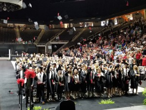 Central High School Graduation at Thompson-Boling Arena, May 14, 2019