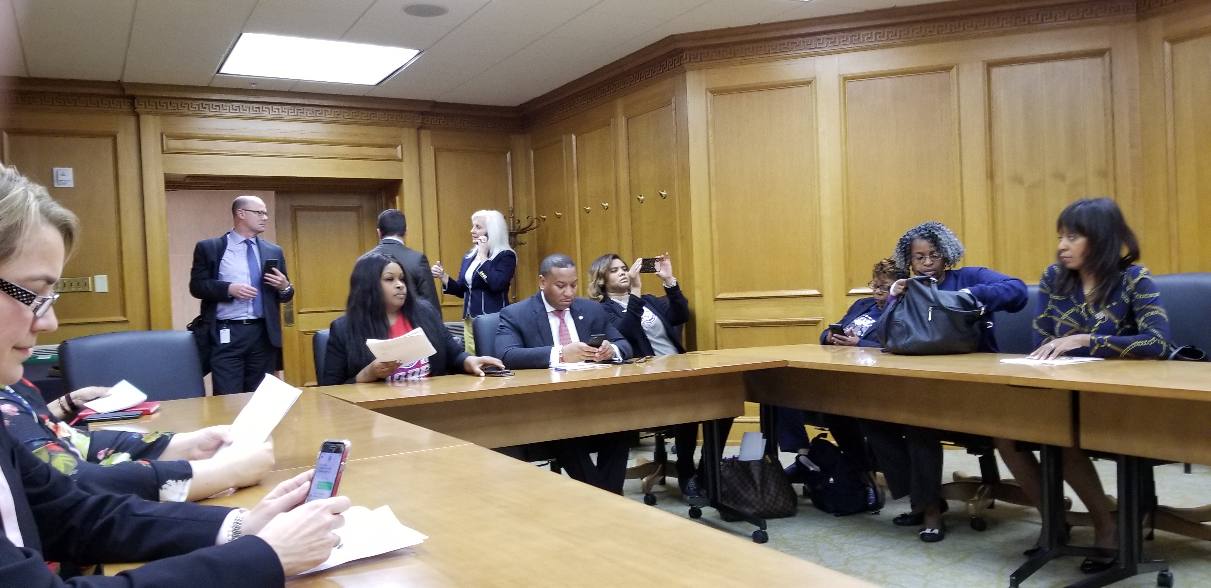 TN School Boards Visit with Governor Lee, April 16, 2019
