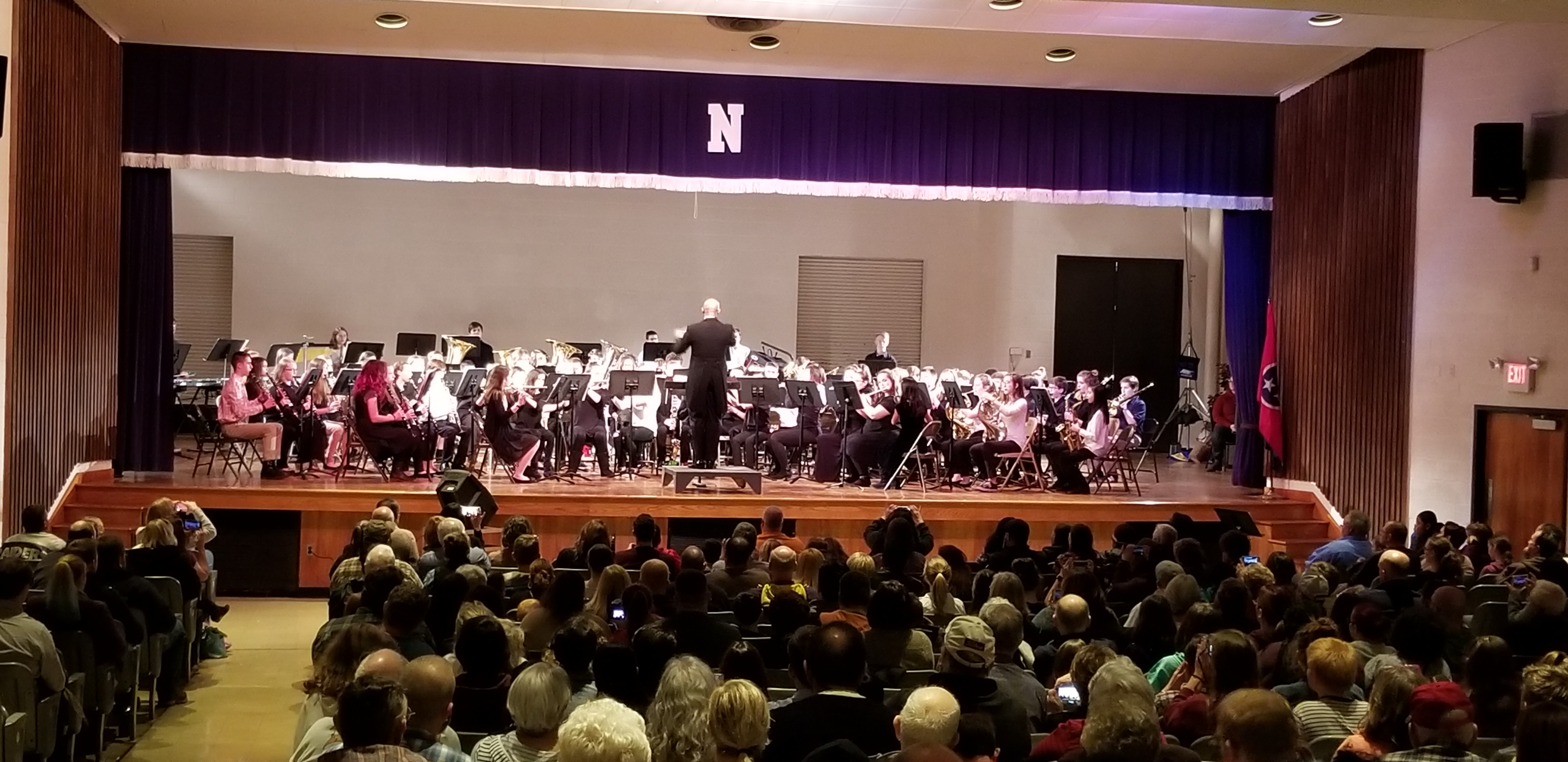 Knox County Middle School Honors Band Concert, January 18, 2019