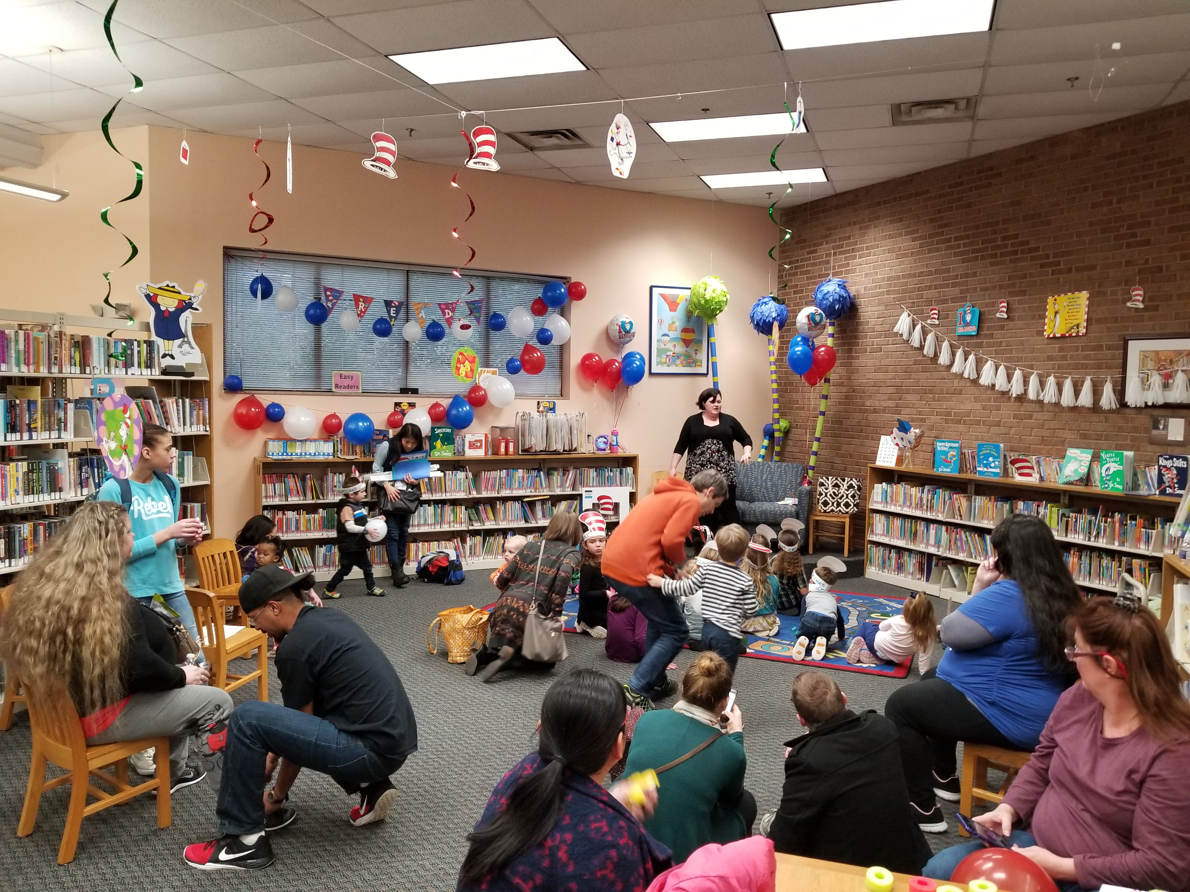 Read Across America Event, Bearden Branch Library, March 1, 2019